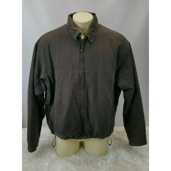 Columbia Canvas Outdoor Jacket Men Size XL Hiking